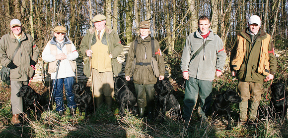 6 Levenghyl bred Field Trial Champions at the 2009 IGL Retriever Championships
